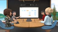 Facebook launches virtual-reality work app for meetings
