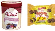 Dessert items recalled over allergy concerns