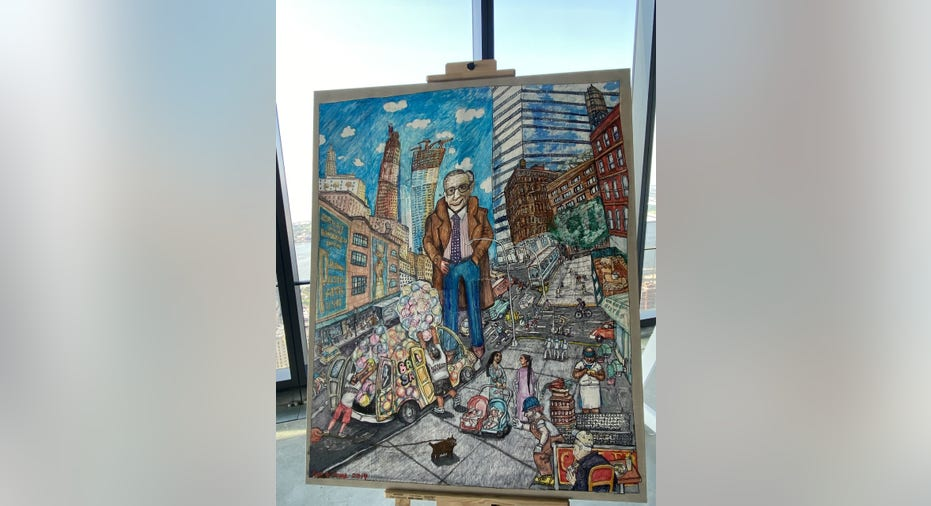 """""""Top of the Word"""" exhibit tells the story of the World Trade Center's rebuilding after 9/11 terror attacks"""