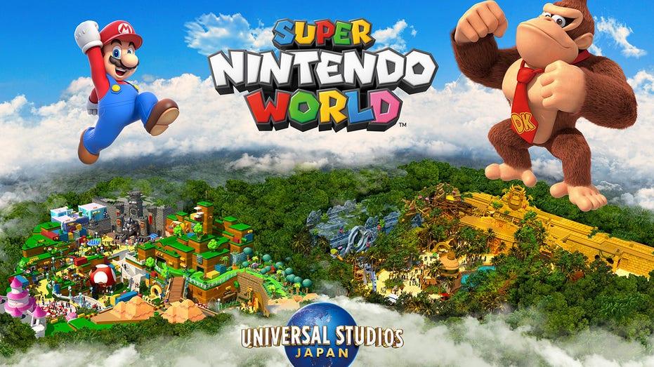 Super Nintendo Land Donkey Kong