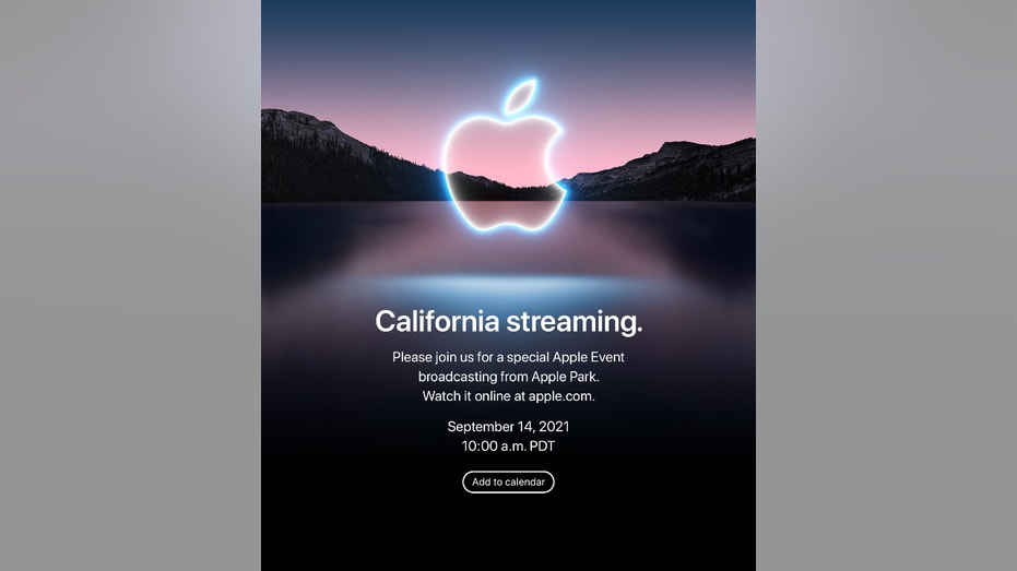 Apple 2021 launch event (Credit: Apple invite)