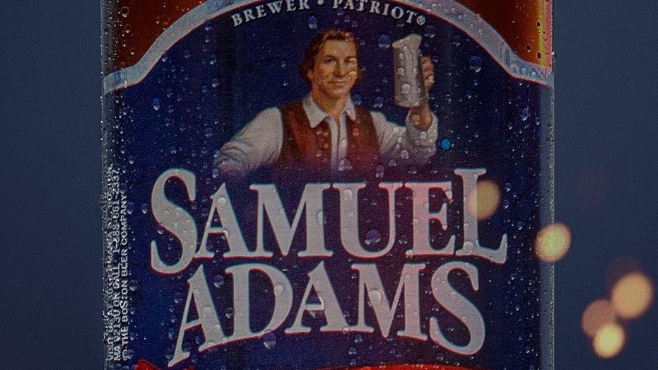 Cold Beer - Samuel Adams - Boston Lager - Condensation