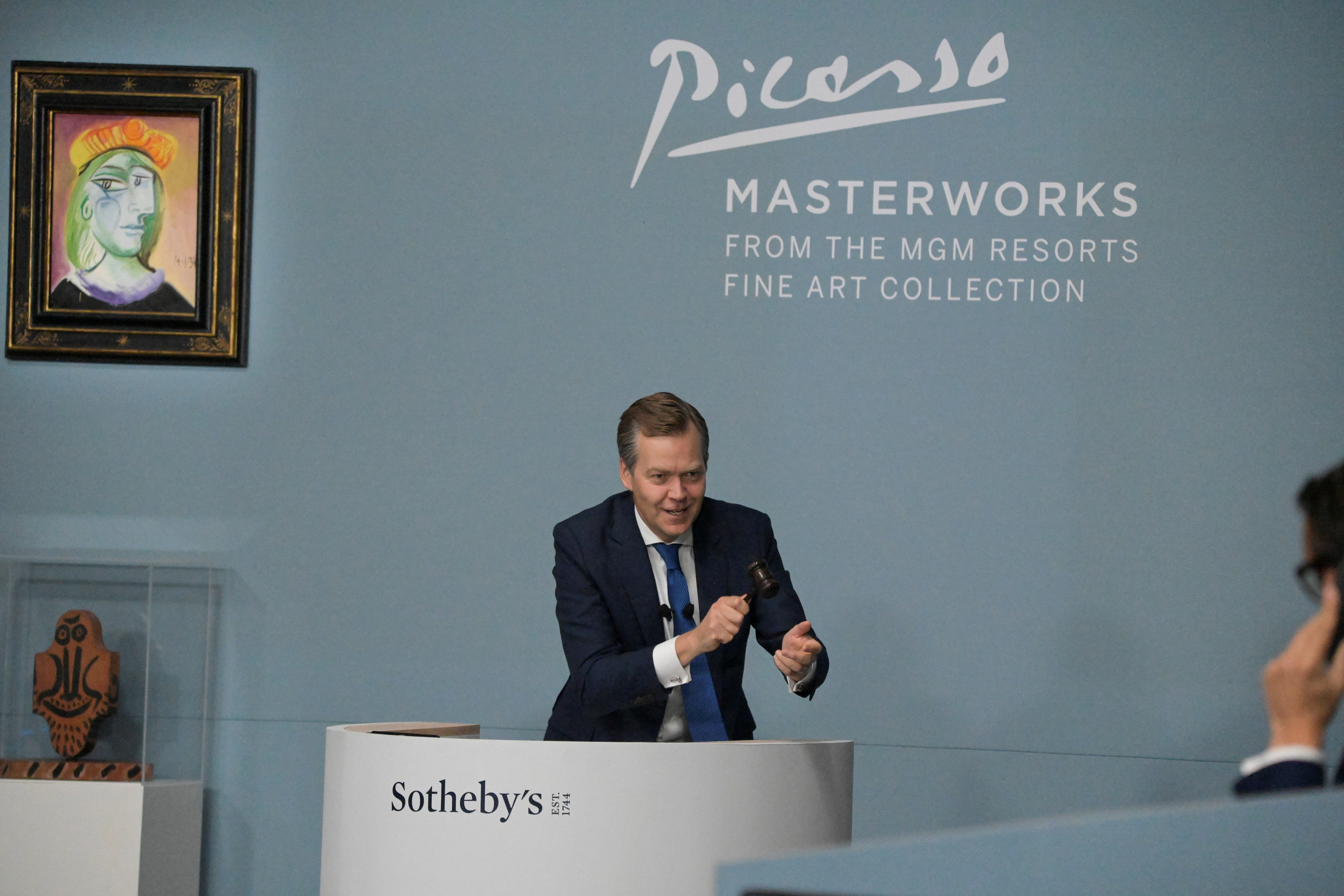 Las Vegas auction sells Picasso paintings for over $100 million