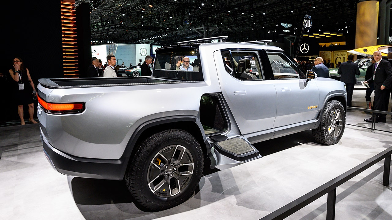 EV truck maker Rivian plans in-house battery cell manufacturing | Fox  Business