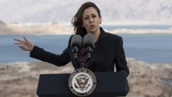 Kamala Harris, at Nevada's Lake Mead, claims mega-spending bills critical to fight climate change