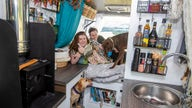 Couple sells their dream home to travel around Scotland in a van