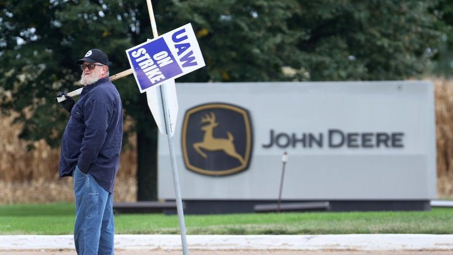UAW's John Deere strike threatens supply chain, food supply