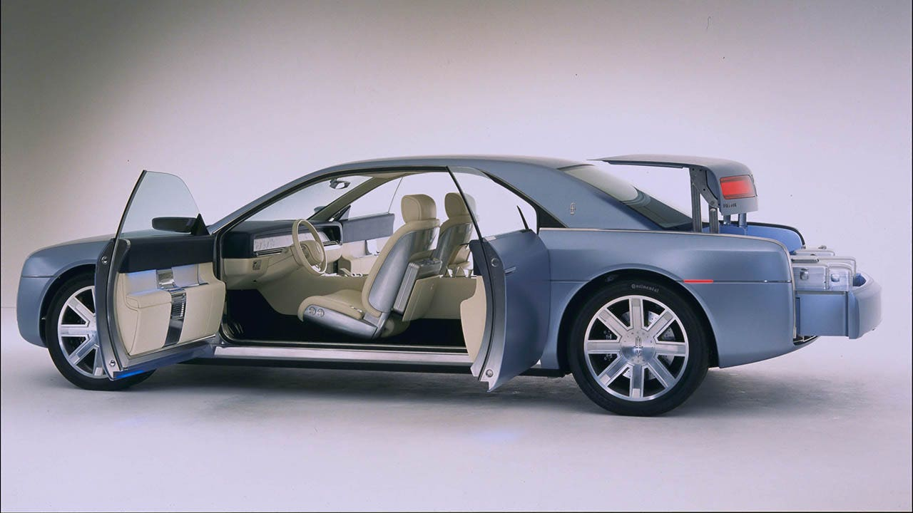 Lincoln Continental Bringing Back Suicide Doors Fox News