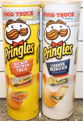 Pringles Has New Cheeseburger Flavored Chip That Tastes Like A