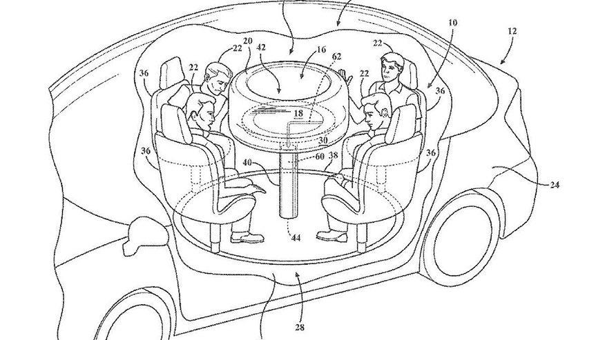 ford patents table for autonomous cars fox news Chrysler Minivan 2016