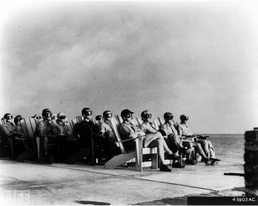 the manhattan project the desert test Now, dr norris said, mr laurence went to work for the manhattan project and became the only reporter to witness the trinity test in the new mexican desert in july 1945, and, shortly thereafter.