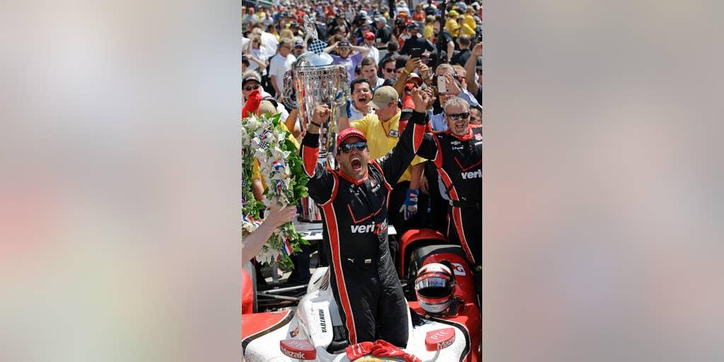 Juan Pablo Montoya Edges Penske Racing Teammate Will Power To Capture Second Indy 500 Victory Fox News