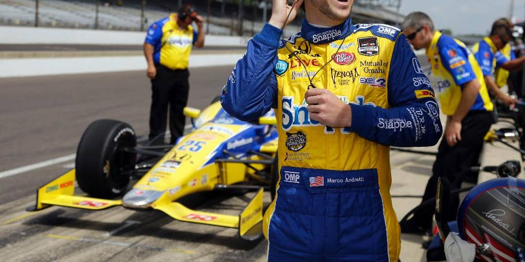Andretti Drivers Jump To Top Of Indianapolis 500 Speed Charts On 2nd Day Of Practice Fox News