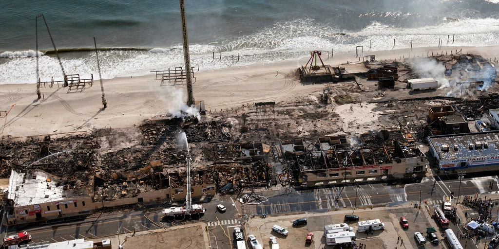 New Jersey boardwalk fire linked to Sandy-damaged electrical
