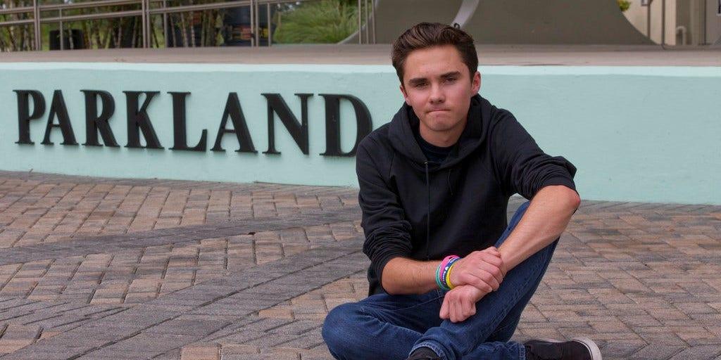 Parkland shooting survivor David Hogg says he's been target of 7 assassination attempts