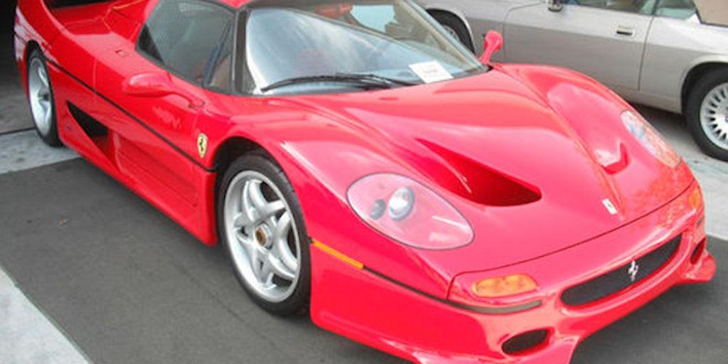 Fbi Crashed Ferrari F50 On Sale For 715 000 Fox News