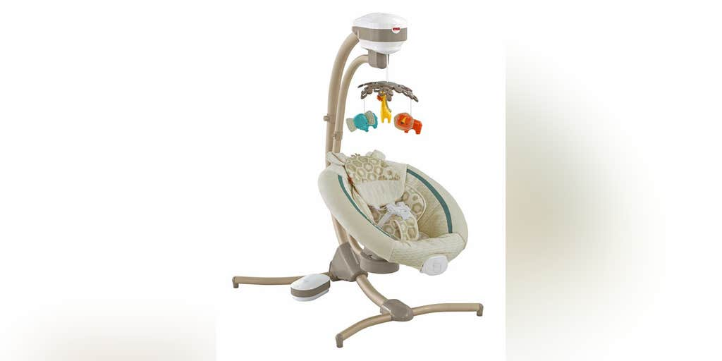 Fisher Price Issues Recall Of Infant Cradle Swings Due To Fall Hazard Fox News