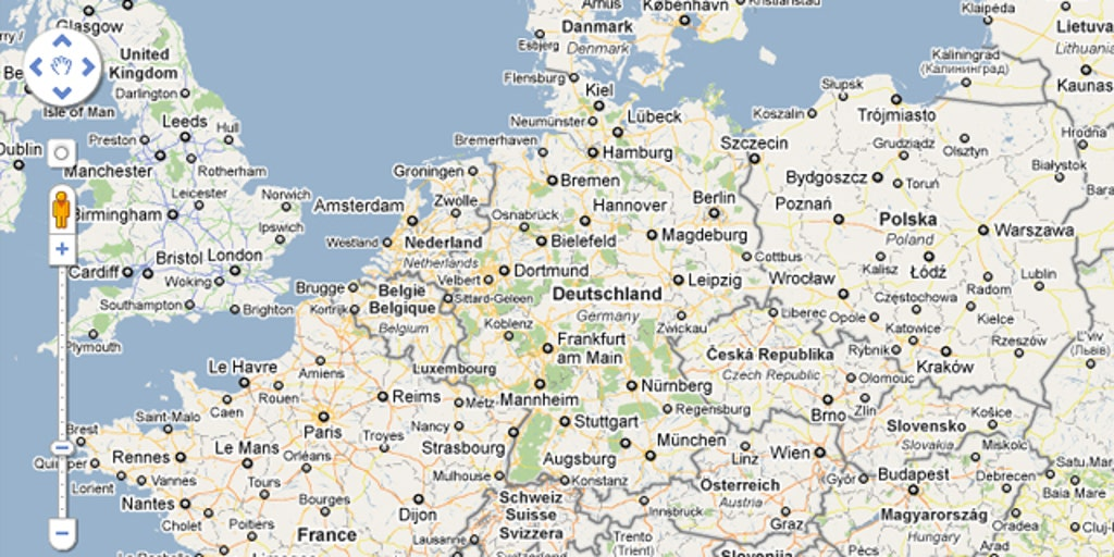 Map Of Germany Google.Google Maps Blunder Reignites Centuries Old Border Dispute Fox News
