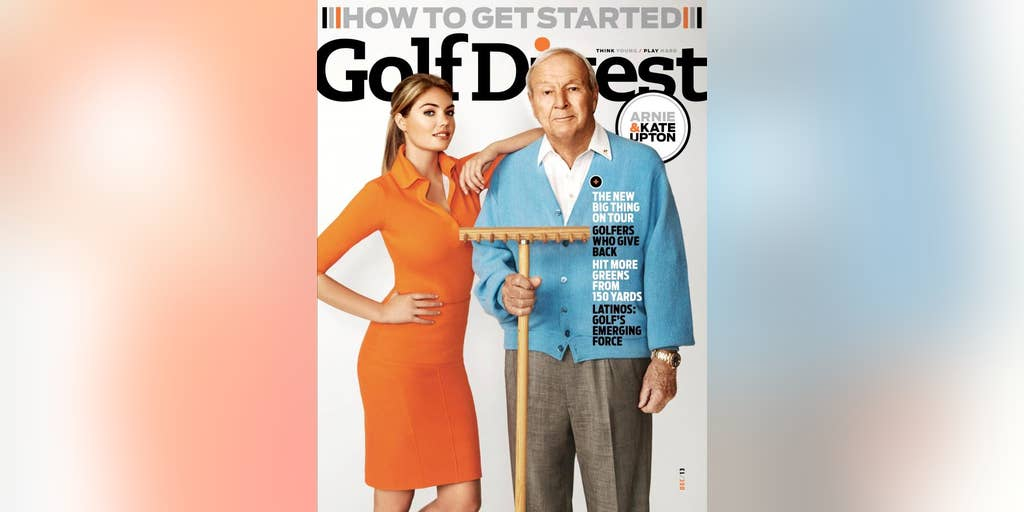Kate Upton Golf Digest