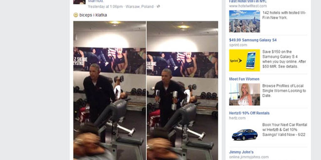 Secret service not sweating leak of obama workout photos fox news