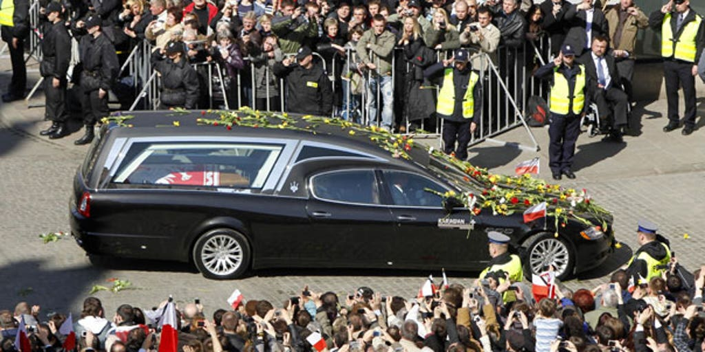 Elaborate State Funeral Held for Poland's First Couple | Fox
