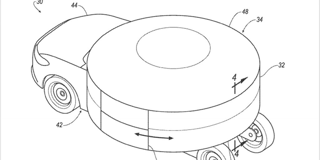 Ford Patents Revolutionary Rotating Round Car Ousel