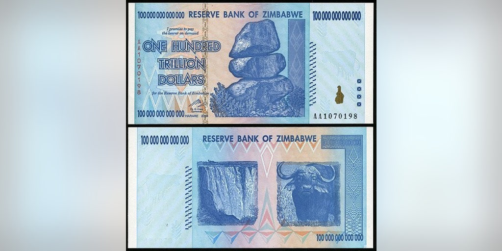 One Us Dollar Z 35 Quadrillion As Zimbabwe Phases Out Old