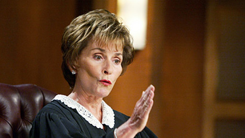 Judge Judy has a few words for PC police