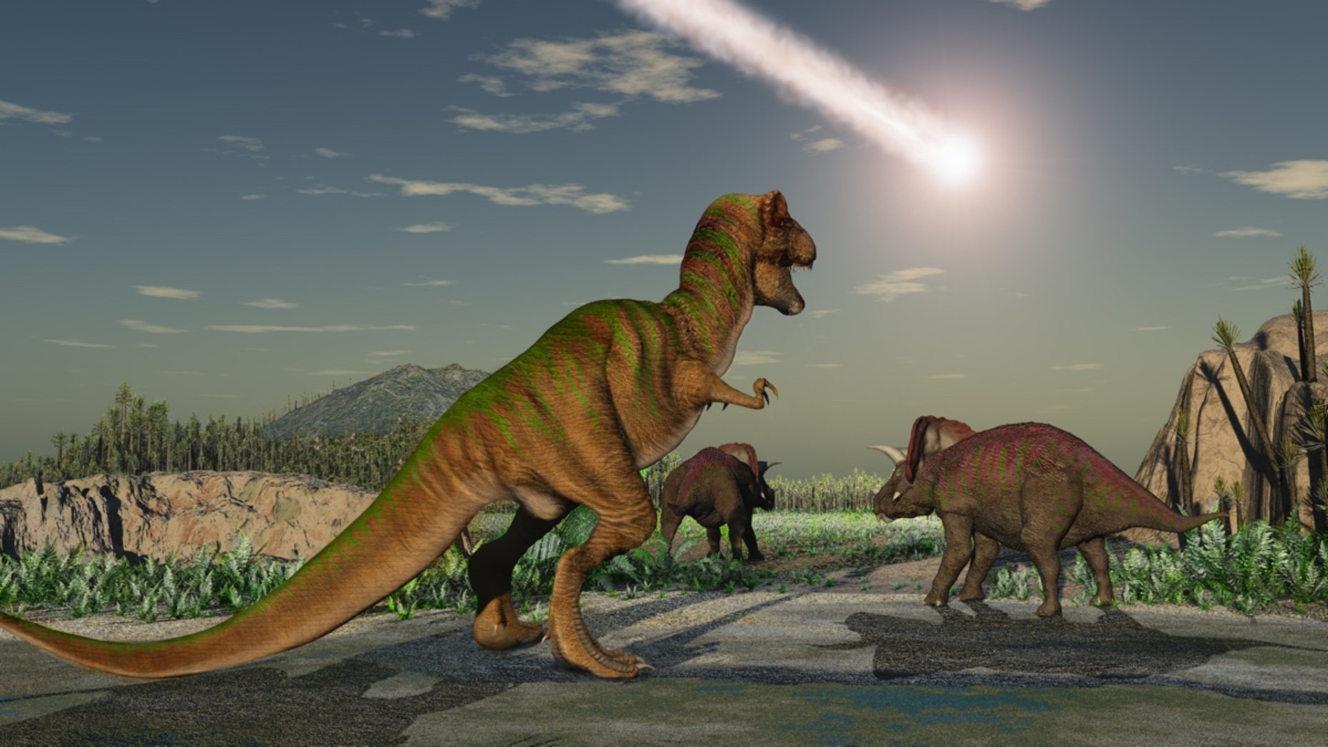 What if the space rock that wiped out the dinosaurs hit another spot on Earth? (Esteban De Armas/Shutterstock)
