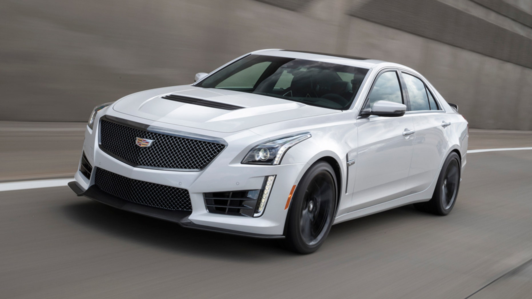 Most Powerful American Cars-2016 Cadillac CTS-V