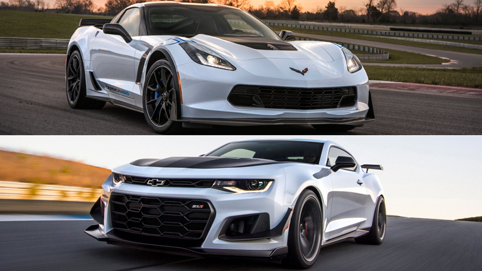 Most Powerful American Cars-2018 Chevrolet Camaro Z06/Camaro ZL1