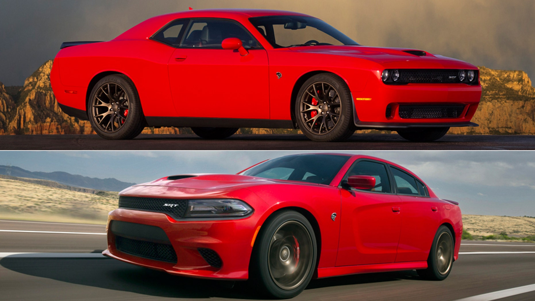 Most Powerful American Cars-2015 Dodge Challenger/Charger SRT Hellcat