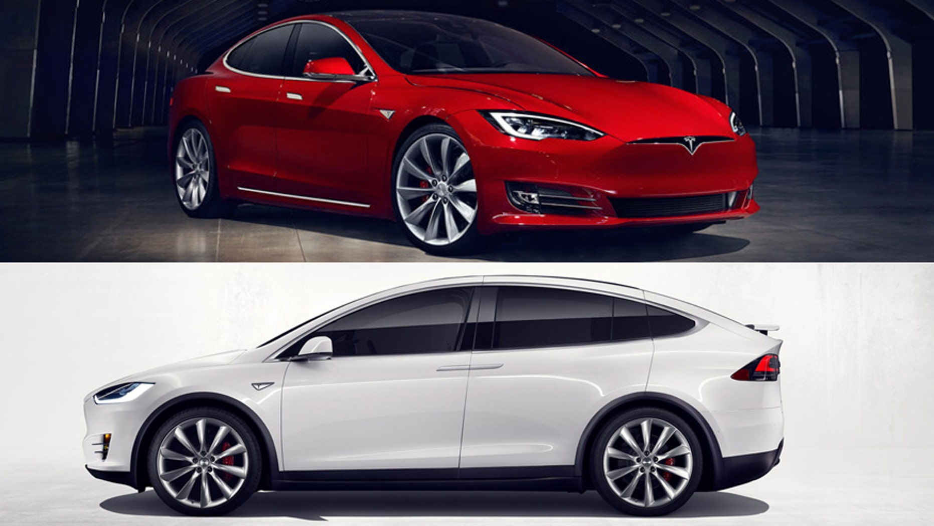 Most Powerful American Cars-2017 Tesla Model S/X P100D