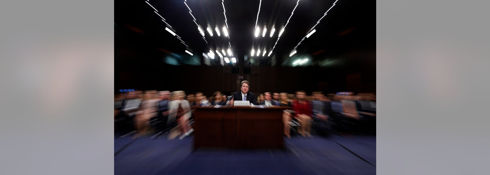 Kavanaugh Confirmation The Latest Developments On Charges By Watch And News In Senate Judiciary Committee A Slow Shutter Speed Zoom Lens President Donald Trumps Supreme Court Nominee Brett Testifies Before