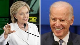 Hillary Clinton keeps low profile in Florida while Biden draws crowds at rallies