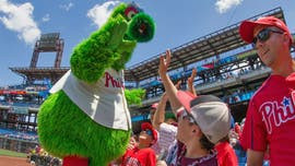 Phanatic mascot gets new look as Phillies, creators tangle