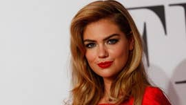 Kate Upton pumps breast milk in a 'Valentine's Day dinner pregame' photo: 'Just Keep Pumpin'