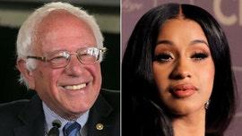 Cardi B praises Bernie Sanders, suggests he should have won in 2016