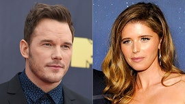 Chris Pratt and Katherine Schwarzenegger share the same post to help California wildfire victim