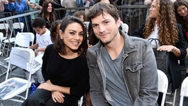 Mila Kunis praises Ashton Kutcher for being a 'fantastic' teacher while homeschooling kids