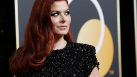 Debra Messing faces backlash over photoshopped image linking Trump to Hitler