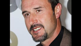 David Arquette suffers bloody neck wound in 'death match' wrestling event
