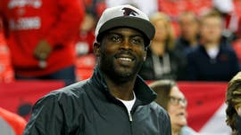 Michael Vick recalls his meal order during first dinner with Atlanta Falcons owner