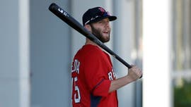 Red Sox's Pedroia has setback during knee rehabilitation