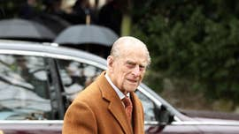 Prince Philip uninjured in car crash, palace says