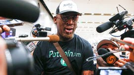 Dennis Rodman reveals he is fighting to stay sober after falling off the wagon