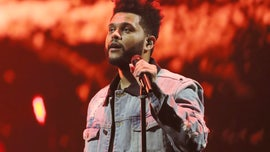 The Weeknd nearly hit by falling stage equipment during Mexico City concert