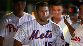 Tim Tebow still holding onto baseball dream, trying to make it real