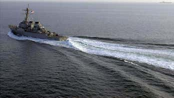 US sends 2 warships through Taiwan Strait ahead of China trade talks