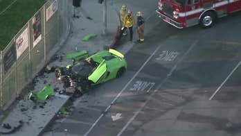 McLaren supercar completely demolished in Southern California crash